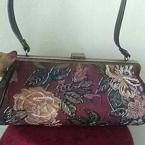 Handbags - ONE DAY🔥VTG TAPESTRY BAG NWOT